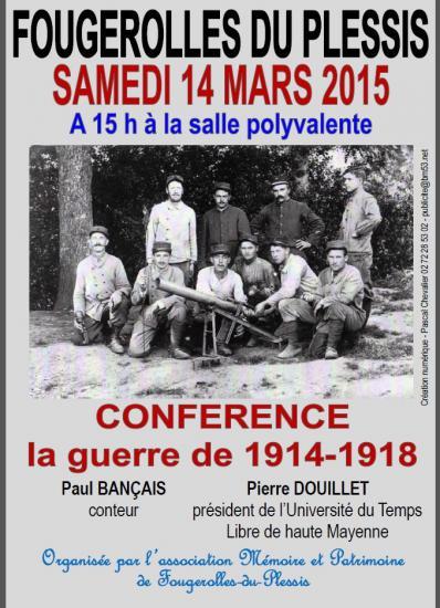 Affiche pour conference