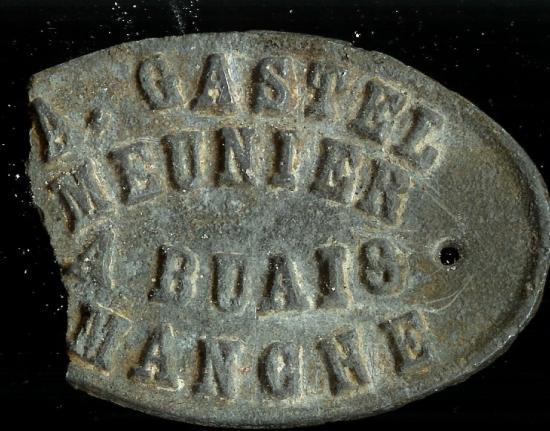 Plaque gatel